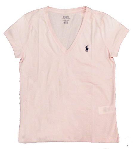 Polo Ralph Lauren Women's Pony Logo V-Neck Tee -