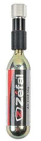 Zefal CO2 Pumpe EZ Control, schwarz/silber, Standard, 3570004