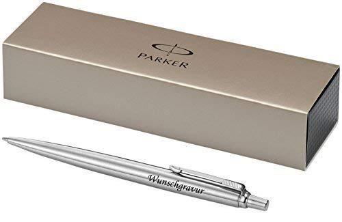 Esclusivo PARKER Penna a sfera Modello JOTTER argento incl. incisione Incisione a laser incisione nuovo