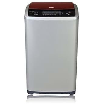 Haier HWM65-1128NZP Fully-automatic Top-loading Washing Machine (6.5 Kg, Blue)