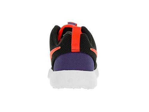 Nike Blck / Ttl Crmsn-Dk Prpl Dst-Wht, Chaussures de Football Mixte Bébé Noir (Blck / Ttl Crmsn-Dk Prpl Dst-Wht)
