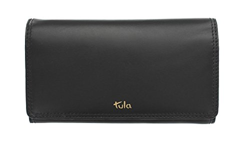Tula liscio ORIGINALS donna in pelle borsa con contrasto interiore 7649 Mouse nero
