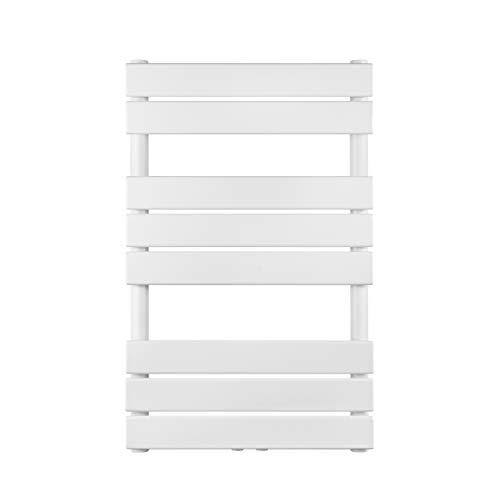 VILSTEIN Bad Heizkörper, Horizontal, Weiß, Seitenanschluss und Mittelanschluss, 800x500 mm