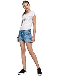 Replay Damen Shorts Jeansshort