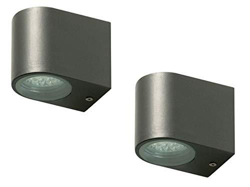 Ranex set applique da parete per esterno u cbastiau d