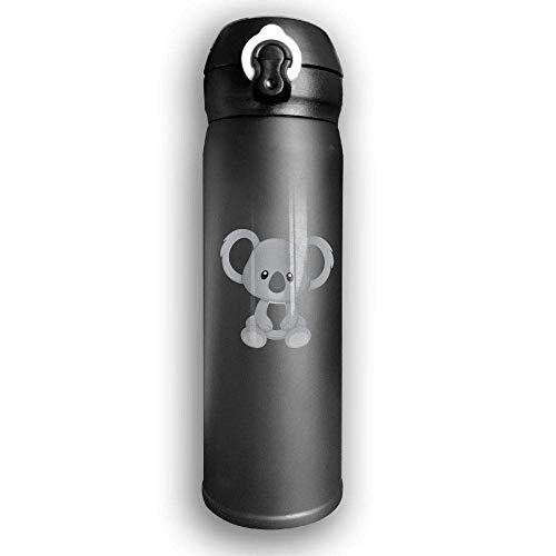 Bestqe Vakuumisolierte Trinkflasche,Wasserflasche,Thermosflasche, Koala Bear Stainless Steel Mug 17 OZ Double Walled Vacuum Insulated Water Bottles 17 Oz Mug