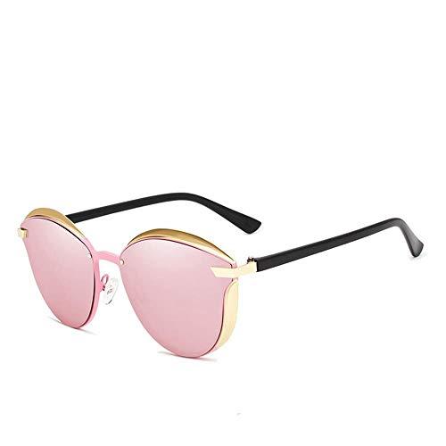 ZHOUYF Sonnenbrille Fahrerbrille Cat Eye Sonnenbrillen Damen Polarized Fashion Lady Sonnenbrillen Damen Vintage Tone, B