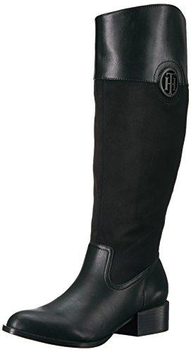 Tommy Hilfiger Frauen Madelen 2 Geschlossener Zeh Fashion Stiefel Schwarz Groesse 5 US /35.5 EU