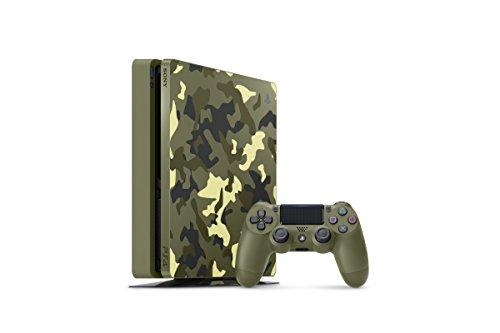 Sony PlayStation 4 Schlanke 1TB Limited Edition Konsole - Call of Duty WWII Bundle [Nicht mehr] - Bundle, Of Duty Konsole Ps4 Call