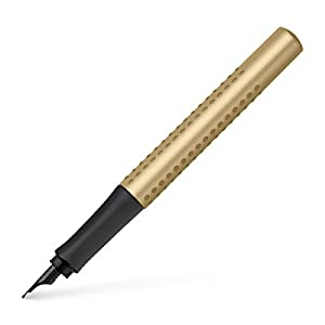Faber-Castell Grip Edition B Fountain Pen - Gold