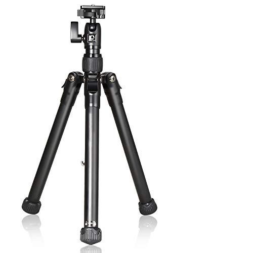 """Sailnovo Slider per Fotocamera da 24 """"/ 60 cm, Carrello per Carrelli Dolly In Alluminio DSLR con Vite 1/4 """"3/8"""" Capacità di Carico Fino a 17,5 Libbre / 8 kg (treppiede (28-150cm))"""