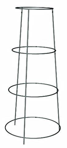 Panacea Products 89768 Galvanized Heavy Duty Inverted Tomato Cage and Plant Support, 36-Inch