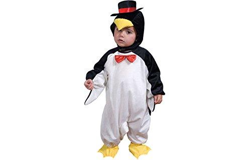 guin Kostüm, schwarz/weiß, klein (Mario-kostüm Für Kleinkind)