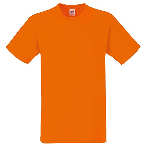 Fruit of the LoomHerren T-Shirt Orange - Orange