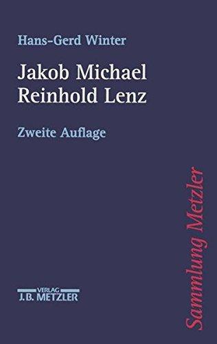 Jakob Michael Reinhold Lenz.
