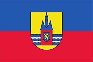 Flagge Fahne Wangerooge ca. 120 x 200 cm, 110 g/m² Polyesterwirkware