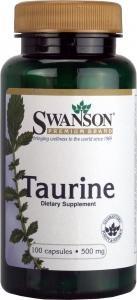 Swanson Taurine 500mg (100 Capsules)