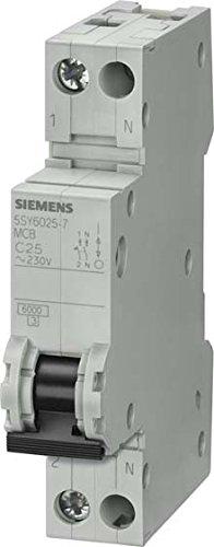 Siemens 5sy6–Automatik-Schalter 70mm 10KA curva-b 1Pole + Neutral 16A