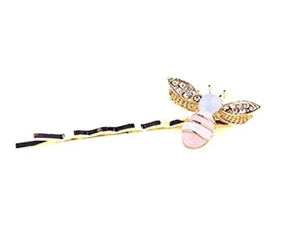 Amoy.B Cute little bee clip hairpin decoration fixed hair *1