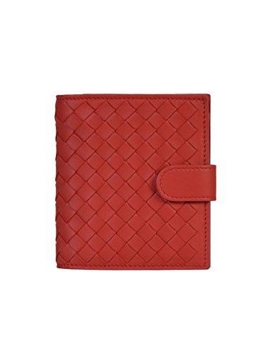 bottega-veneta-femme-121059v001n6417-rouge-cuir-portefeuille