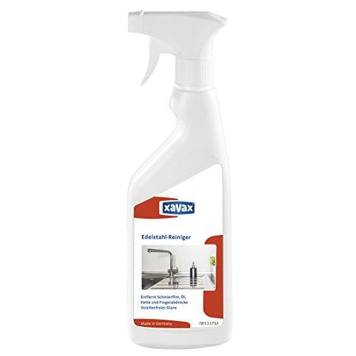 edelstahlreiniger kueche Xavax Edelstahlreiniger für Oberflächen (Aus Edelstahl in Küche, Werkstatt etc., 500 ml Sprühflasche)