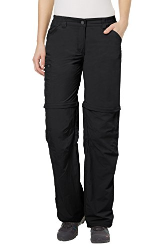 VAUDE Damen Hose Farley Zip Off Pants IV, Black,40/M, 3873