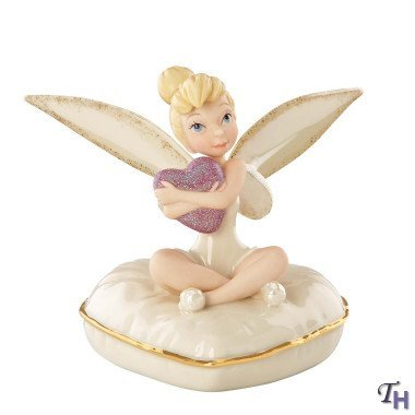 Lenox Classics Tinker Bell Pixie Heart Limited Edition Of 3000 by Lenox