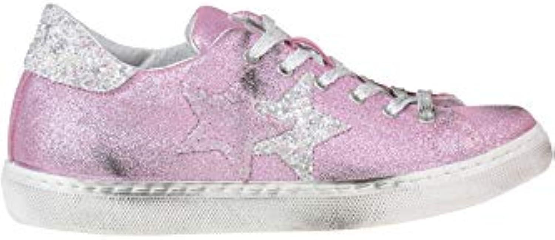 Gentiluomo Signora 2Star scarpe da ginnastica Donna MCGLCAK000005023E Pelle rosa rosa rosa Reputazione a lungo termine nuovo Forte calore e resistenza al calore   Il materiale di altissima qualità  890bdd