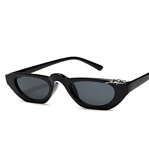 AAMOUSE  Frauen Cat Eye Sonnenbrillen   kleine Linse Vintage Turtle Shell Cat Eye Sonnenbrillen Retro Shades