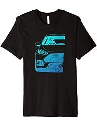 Focus RS Car Used Style Fan Art Cyan T-shirt