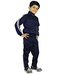 KAWAM Boys Tracksuit in SUPERPOY Fabric Navy