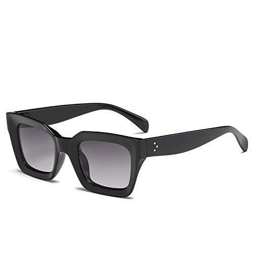 WWVAVA Sonnenbrillen Quadratische Katzenauge-Sonnenbrille-Frauen-Retro Marken-Entwurfs-Weinlese-Sonnenbrille für weibliche Damen Eyewear UV400, c6