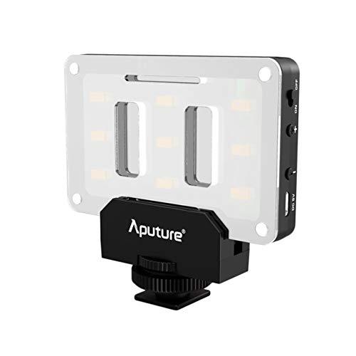 Portable Aputure AL-M9 LED Video Light TLCI/CRI Camera Photographic Light(Color:Black & White)