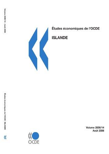 Études économiques de l'OCDE : Islande 2006: Edition 2006