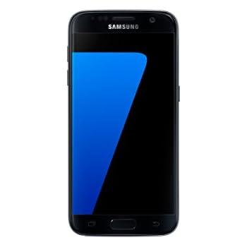 Samsung Galaxy S7 Smartphone Débloqué 4G (Ecran : 5,1 Pouces - 32 Go - 4 Go RAM - Simple Nano-SIM - Android Marshmallow 6.0) Noir