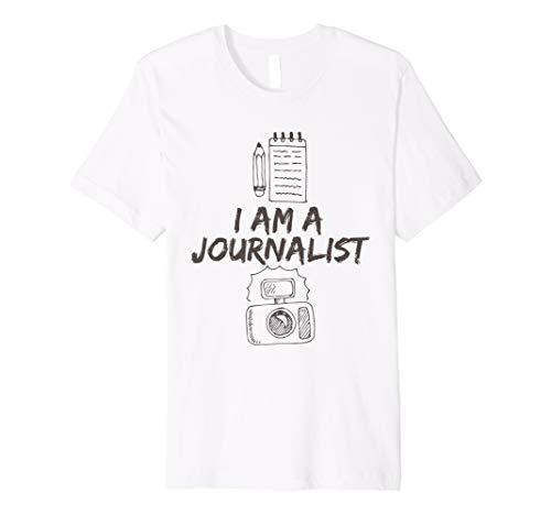 Ich bin ein Journalist Lustiges Geschenk Fun T Shirt