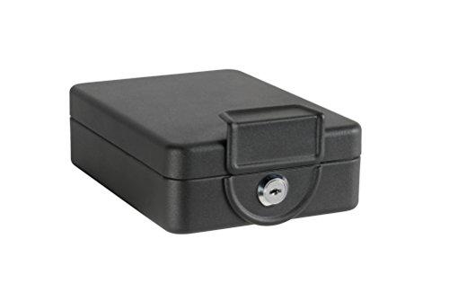 Arregui C9327 Caja De Seguridad Con Cable Para Fijación, Negro, Set de 1 pieza