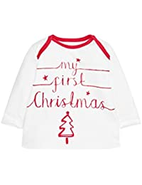 next Unisex Conjunto De Camiseta My First Christmas Leggings Y Gorro De Algodón