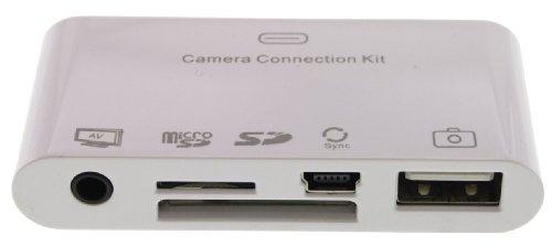 eKit Kamera Verbindung Kit für iPad - Weiß