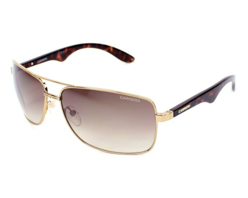 4b3cd84462 Carrera 0827886093823 6005 S Sunglasses Ca6005s 0bwp Cc 6314 Antique Gold  Frame Brown Gradient Lenses Lens- Price in India