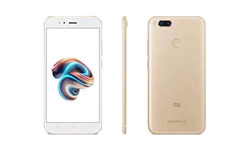 "Xiaomi Mi A1 Dual SIM 4G 32GB Gold, White - Smartphones (14 CM (5.5 ""), 1920 x 1080 pixels, 32 GB, 12 MP, Android, Gold, White)"