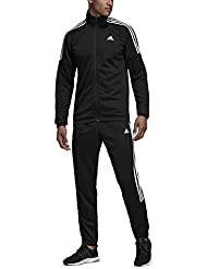bd6929af13 adidas MTS Team Sports, Tuta Uomo, Black/White, XS