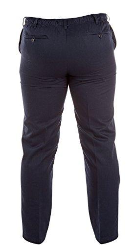 Nuovo da uomo D555vita elasticizzata Rugby pantaloni 76,2cm–101,6cm vita Blu marino