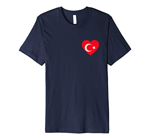 Türkei T-Shirt | Türkische Flagge, Fahne als Herz