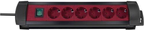 Brennenstuhl 144688 - Regleta 6 tomas + interruptor