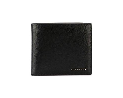 BURBERRY Portafoglio a libro con portamonete in pelle London 3997618