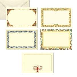 Behälter 100Karten 68x 105mm mit Umschlag im Florentiner KARTOS–Conf. 1