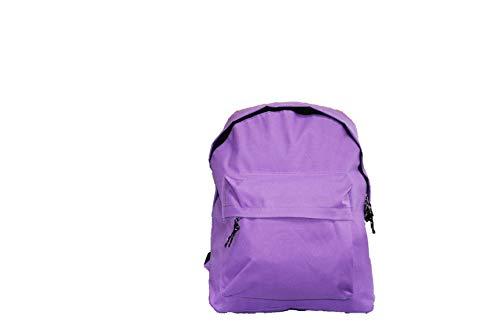 FACTORYCR- Mochila Purple Omega 32x42x16 cms Must Escolar Juvenil Morada, Color (72659)