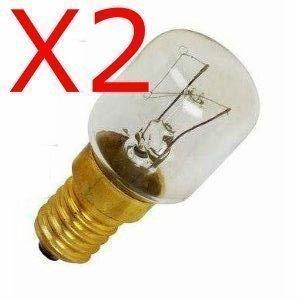 2 X KÜHLSCHRANK/GEFRIERSCHRANK GERÄT GLÜHLAMPE 15 W, E14/SES, PIGMY LAMPE LEUCHTMITTEL