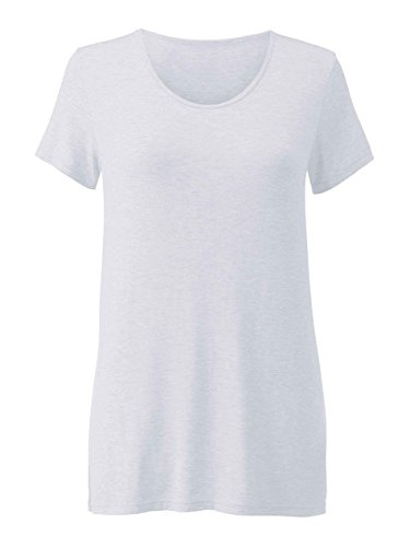 Calida Damen T-Shirt kurzarm Favourites satin grey